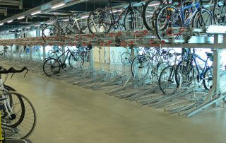 RBWH Cycle Centre - racks