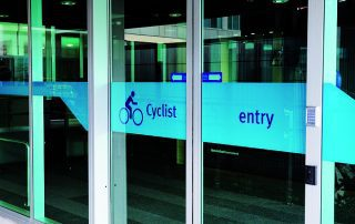 RBWH Cycle Centre - entrance