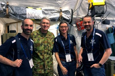 RBWH Doctors visit Talisman Sabre military exercise